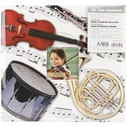 "MBI Sport & Hobby Postbound Album, 12"" x 12"", Musical Instruments"
