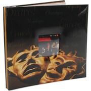 "MBI Sport & Hobby Postbound Album, 12"" x 12"", Drama Mask"