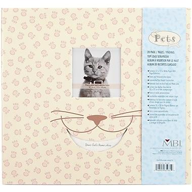 MBI Pet Cat Postbound Album, 12