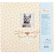 MBI Pet Cat Postbound Album, 12 x 12, Cream