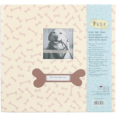 MBI Pet Dog Postbound Album, 12