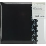 "MBI Postbound Album, 12"" x 12"", Black/White"