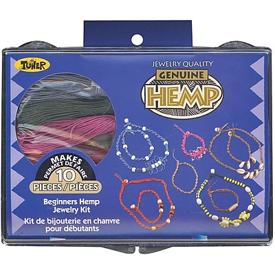 Toner Beginners Hemp Jewelry Kit 301257