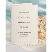 Wilton® Keeping With Tradition Bifold Wedding Invitations Kit, Ivory, 50/Pack
