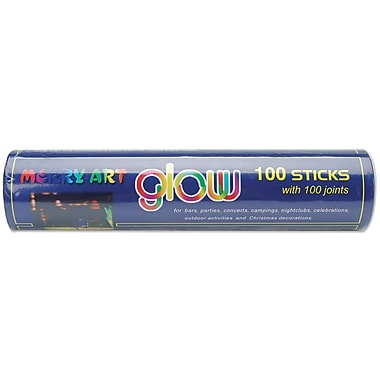 Darice® 10.5in. Glow Sticks Party Tube, Assorted, 100/Pack