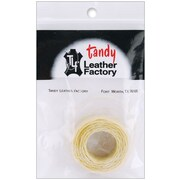 Tandy Leather Factory™ 11207-02 Natural Linen Waxed Thread, 25 yd.