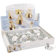 "Darice® Victoria Lynn™ 1"" Bridal Bells, Silver, 24/Pack"