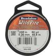 "Beadalon® 0.008"" Stringing Wire, Clear"
