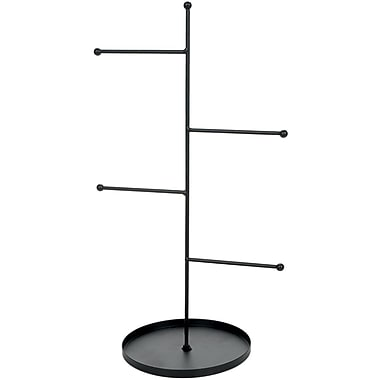 Darice® Metal Rungs Jewelry Stand, Black