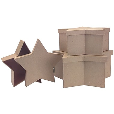 DCC® Paper Mache Large Star Box