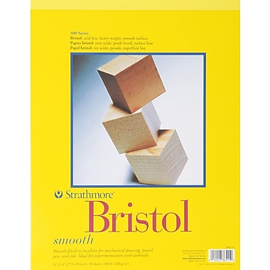Pro-Art® Strathmore Bristol Smooth Paper Pad, 11in. x 14in.