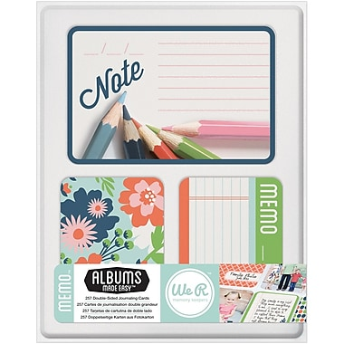 We R Memory Keepers™ Journal Card, Memo