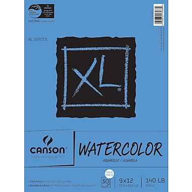 Canson® 9in. x 12in. Paper Pad, Canson XL Watercolor