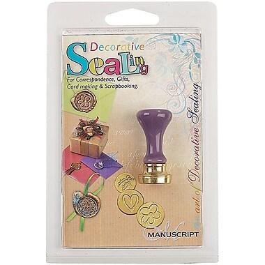 Manuscript Pen 727HAN Purple Decorative Seal Handle