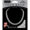 Midwest Products 18in. Chain Maille Helms Necklace Jewelry Kit, Silver