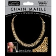 Midwest Products 18in. Chain Maille European 4-in-1 Necklace Jewelry Kit, Gold/ Silver