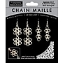 Midwest Products Chain Maille Japanese 6-in-1 Lattice Earrings