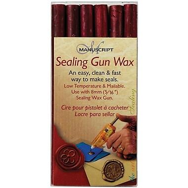 Manuscript Pen Sealing Gun Wax Sticks, Pink, 6/Pack