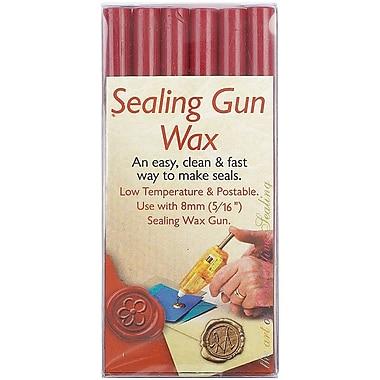 Manuscript Pen Sealing Gun Wax Sticks, Red, 6/Pack