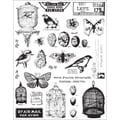 7 Gypsies® 5in. x 7in. Conservatory Clear Stamp