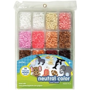 Perler® Neutral Colors Bead Tray, 4000 Pieces