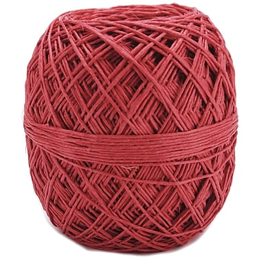 Toner 85558 20# Hungarian Red Hemp Ball, 400'L
