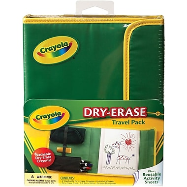 Crayola® Dry-Erase Activity Travel Pack