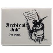 "Ranger 5""x 6-3/4"" x 3/4"" Archival Jumbo Inkpad #3, Jet Black"