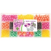 Beadery® Bead Stylin' Bead Box Kit, Citrus, 4.4Oz./Pack