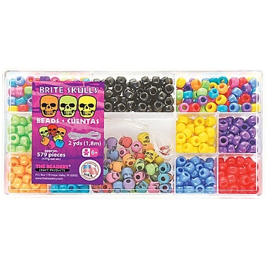 Beadery® 579 Pieces Bead Box Kit