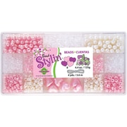 Beadery® Bead Stylin' Bead Box Kit, Bubblegum, 4.4Oz./Pack