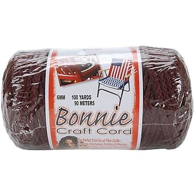 Pepperell BB6-100-019 Burgundy Bonnie Macrame Craft Cord, 100 yd.