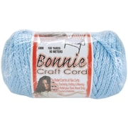 Pepperell BB6-100-035 Sky Blue Bonnie Macrame Craft Cord, 100 yd.