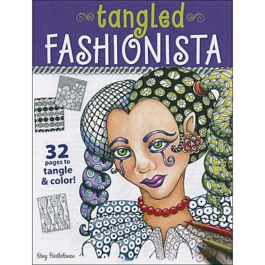 Design Originals DO-21349 Multicolor Tangled Fashionista Book, 11
