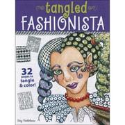 "Design Originals DO-21349 Multicolor Tangled Fashionista Book, 11"" x 8.5"""