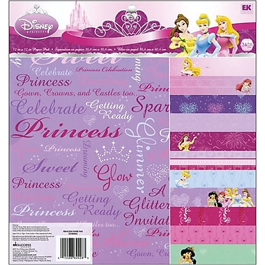 EK Success™ 12in. x 12in. Paper Pad, Disney Princess