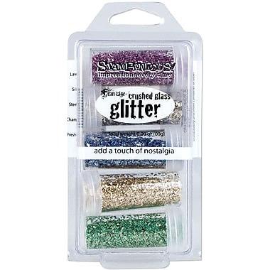 Stampendous® Frantage Glass Glitter 5-Jar Kit
