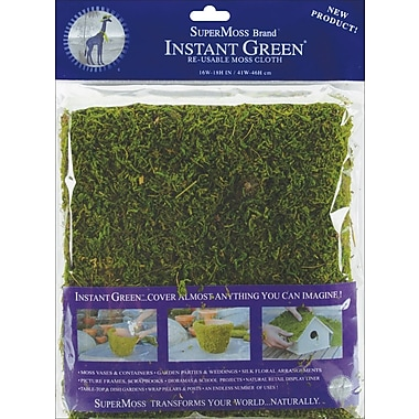 Supermoss® 18in. x 16in. Moss Mat, Green
