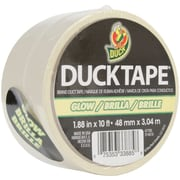 ShurTech GLDT Glow In The Dark White Duck Tape, 10 ' x 1.88""