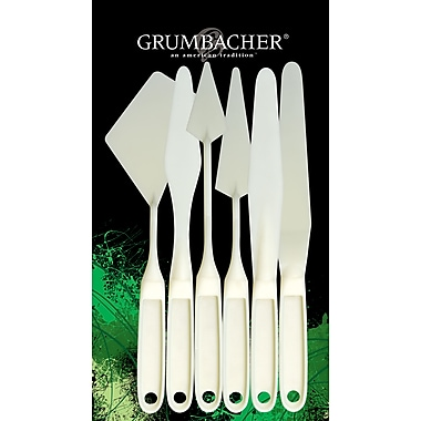 Grumbacher Palette Knife Set of 6, 10