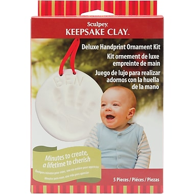 Polyform™ Sculpey Keepsake Kit, Handprint Ornament