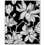 """Hero Arts® 3 3/4 x 3 7/8"""" Cling Stamp, Large Blossom"""
