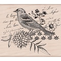 Hero Arts® 4in. x 4in. Mounted Rubber Stamp, Bird Collage