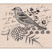 "Hero Arts® 4"" x 4"" Mounted Rubber Stamp, Bird Collage"
