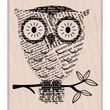 "Hero Arts® 4"" x 4"" Mounted Rubber Stamp, Big Eyes"