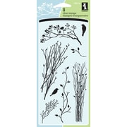 "Inkadinkado® 9 1/2"" x 4.312"" Clear Stamp, Delicate Branches"