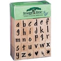 EK Success™ Image Tree Handle Stamp Set, Susy Ratto Brush Letter Alphabet/Lower