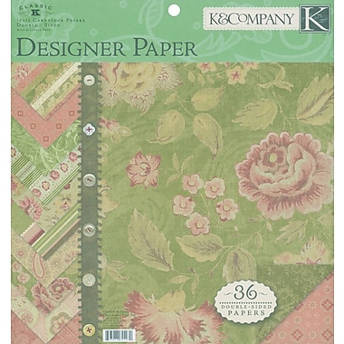 K&Company® 12in. x 12in. Double-Sided Paper Pad, Mckenna