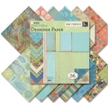 K&Company® 12in. x 12in. Double Sided Paper Pad, Sea Glass