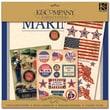"K&Company® Military Scrap Kit, 12"" x 12"", Marines"